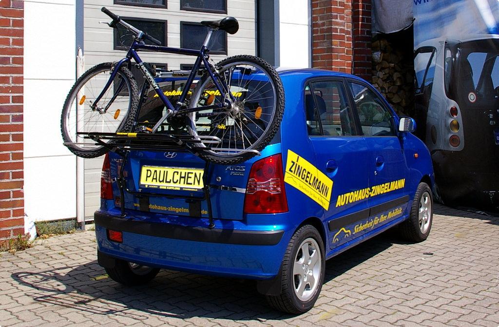 Bicycle Carrier For Hyundai Atos Prime Paulchen
