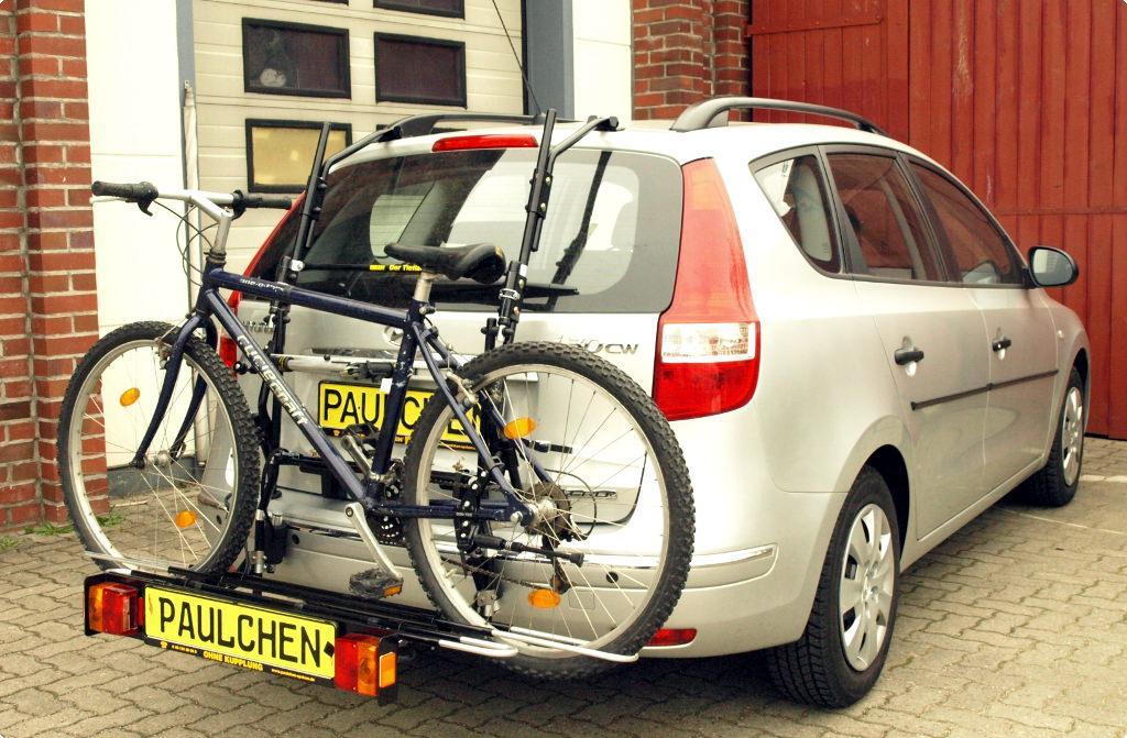 Menabo Fahrradträger Logic 3 für Hyundai i30 CW Kombi 3 Fahrräder NEU PKW