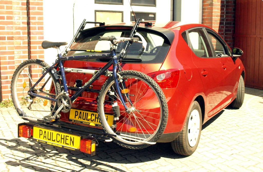 Seat Ibiza Bj 1993-2009 Fahrradträger Heckklappe für 3 Fahrräder Heckträger