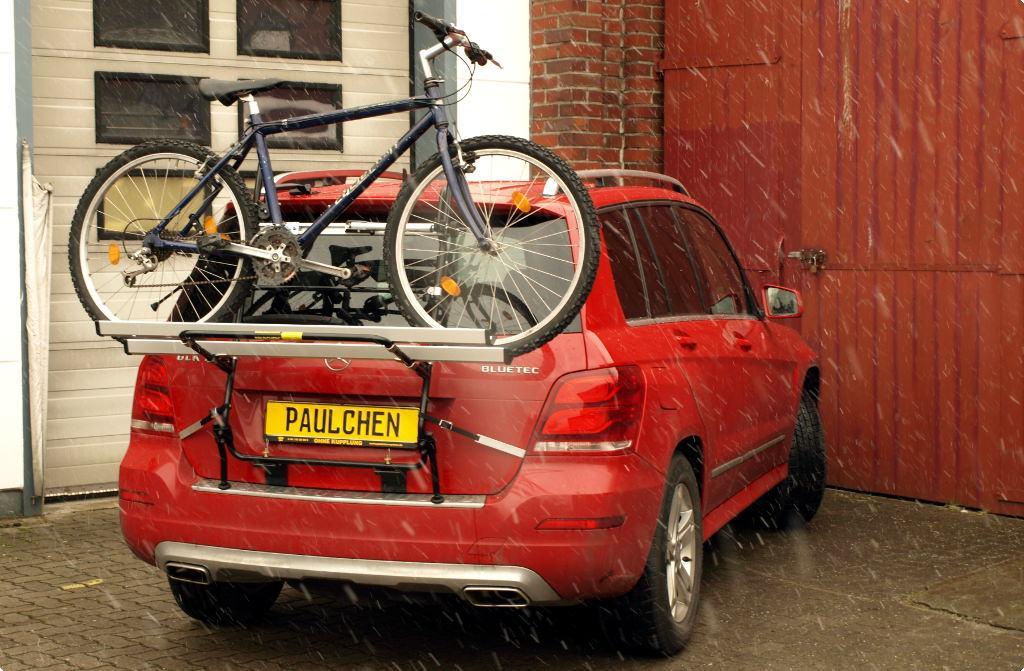 Mercedes glk bike rack paulchen heck und fahrradtr ger for Mercedes benz bike rack