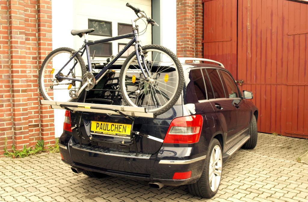 Mercedes glk bike rack paulchen heck und fahrradtr ger for Mercedes benz bicycle rack