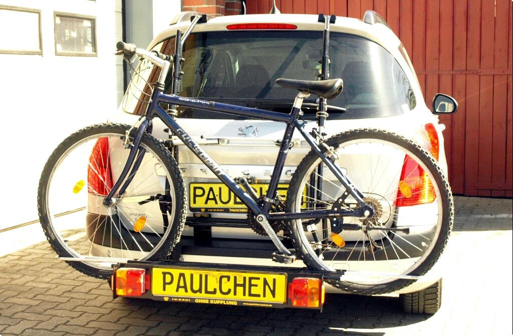 3 BICYCLE REAR MOUNT CARRIER CAR RACK for PEUGEOT 308 SW