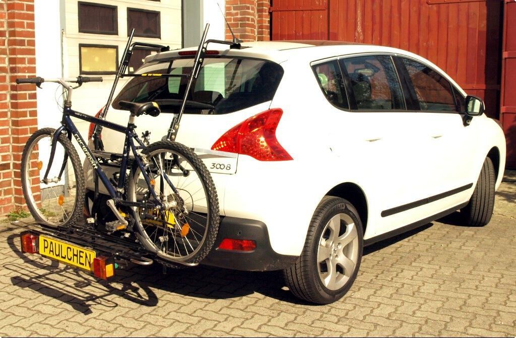 Peugeot 3008 Bike Rack Paulchen Hecktrager System Fahrradtrager