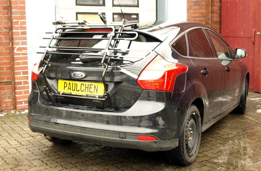 bicycle carrier for ford focus iii paulchen hecktr ger. Black Bedroom Furniture Sets. Home Design Ideas