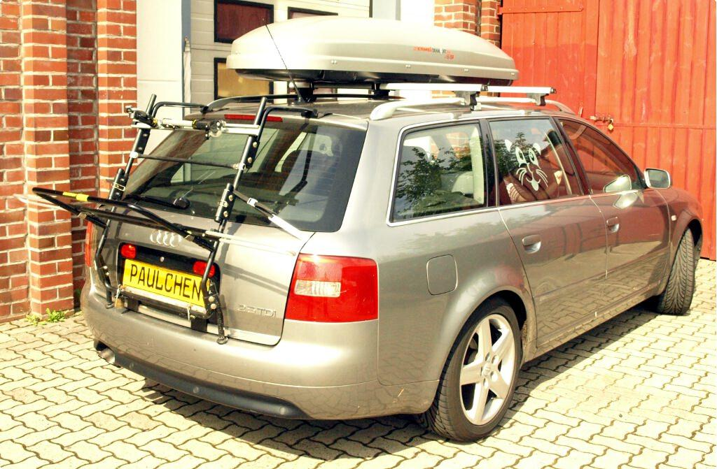 bicycle carrier for audi a6 avant c5 paulchen. Black Bedroom Furniture Sets. Home Design Ideas