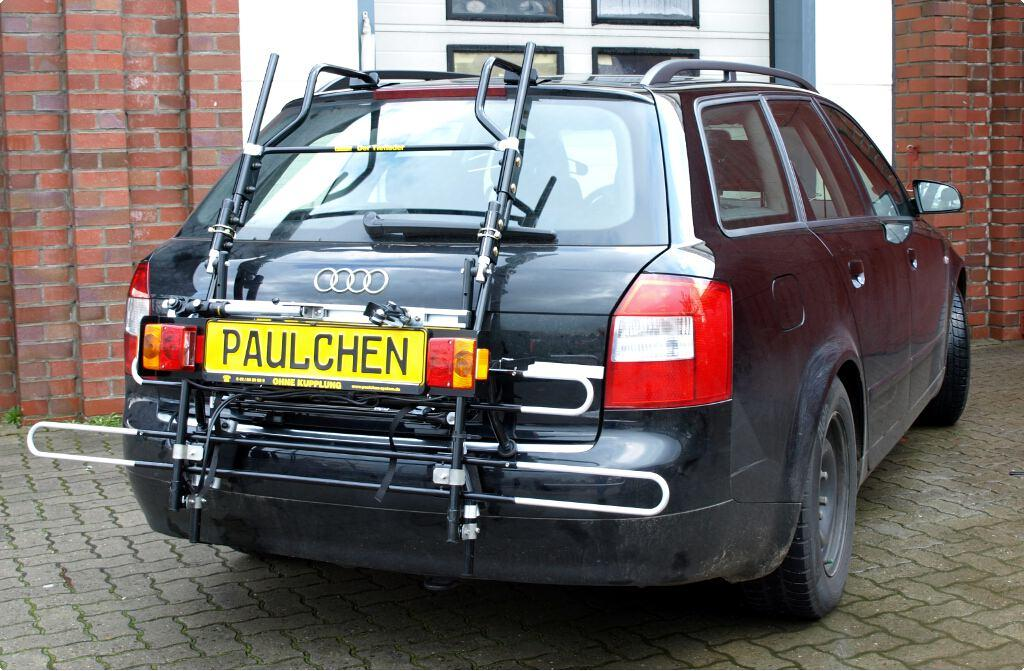 Bicycle Carrier For Audi A4 Avant B6 Paulchen