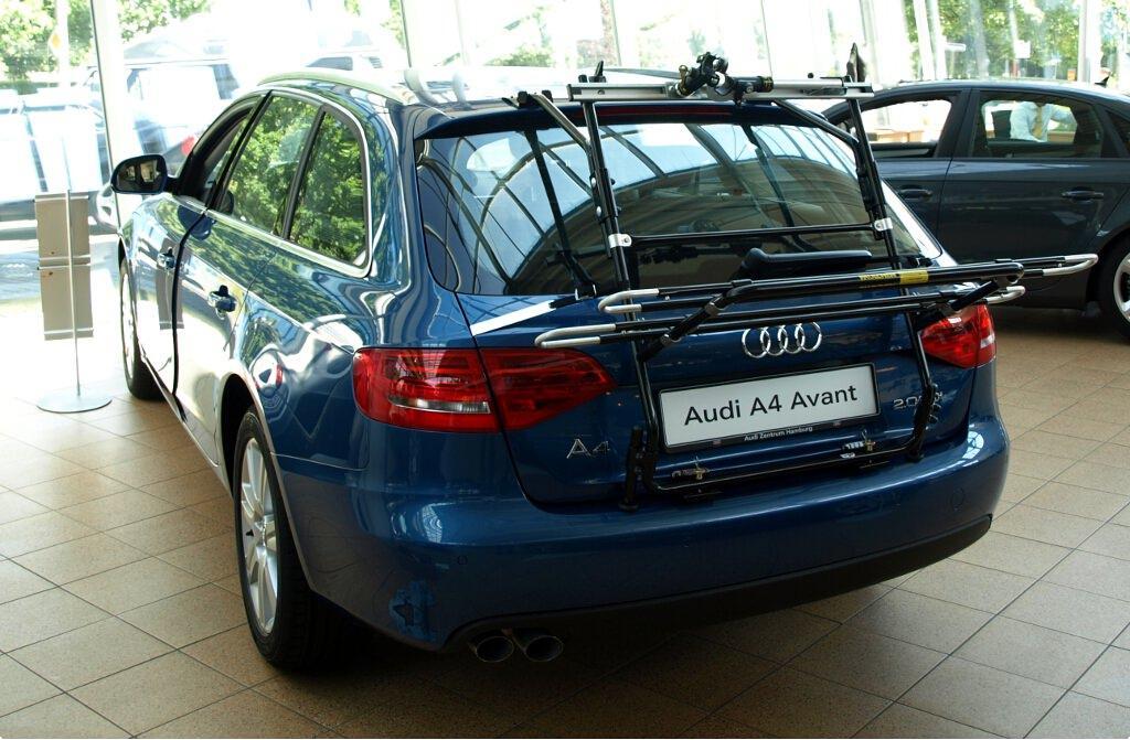Fahrradträger Für Audi A4 Avant B8 Paulchen Heckträger System