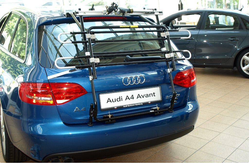 Bicycle Carrier For Audi A4 Avant B8 Paulchen Heckträger System