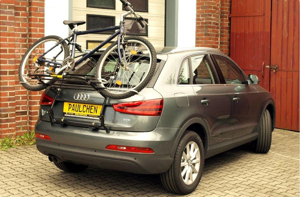 Bicycle Carrier For Audi Q3 8u Paulchen Hecktrager System