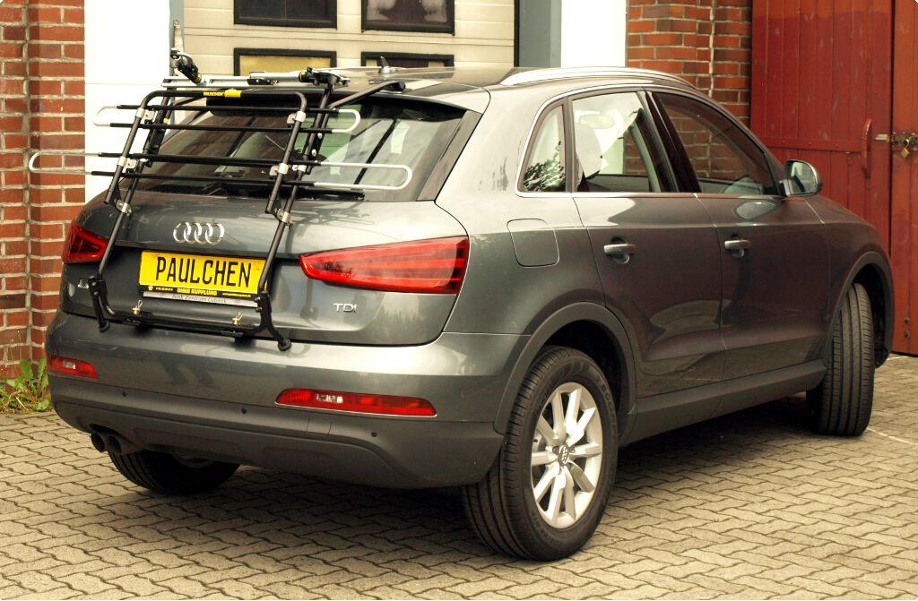 Fits Audi Q3 2011-2017 3 Cycle Carrier Rear Tailgate Boot Bike Rack Bicycle