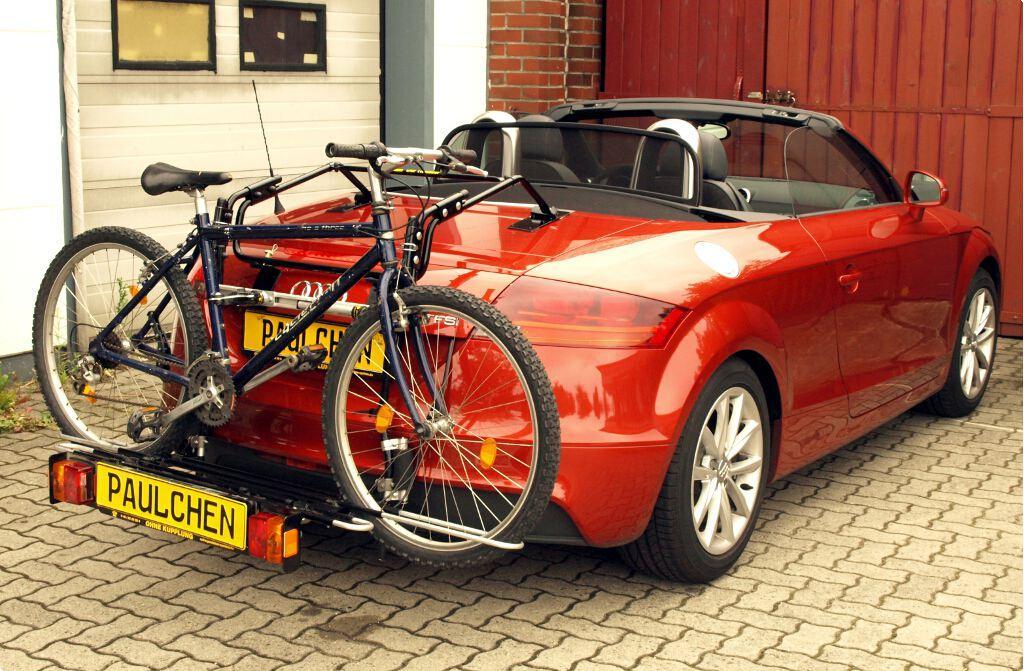 fahrradtr ger f r audi tt roadster 8j paulchen. Black Bedroom Furniture Sets. Home Design Ideas