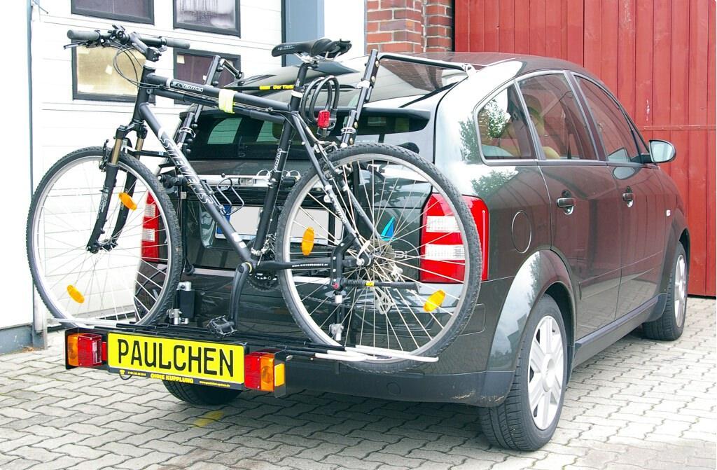 fahrradtr ger f r audi a2 paulchen hecktr ger system. Black Bedroom Furniture Sets. Home Design Ideas