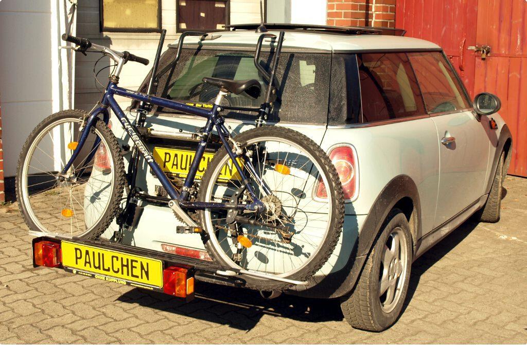 fahrradtr ger f r mini cooper mini one r56 paulchen. Black Bedroom Furniture Sets. Home Design Ideas