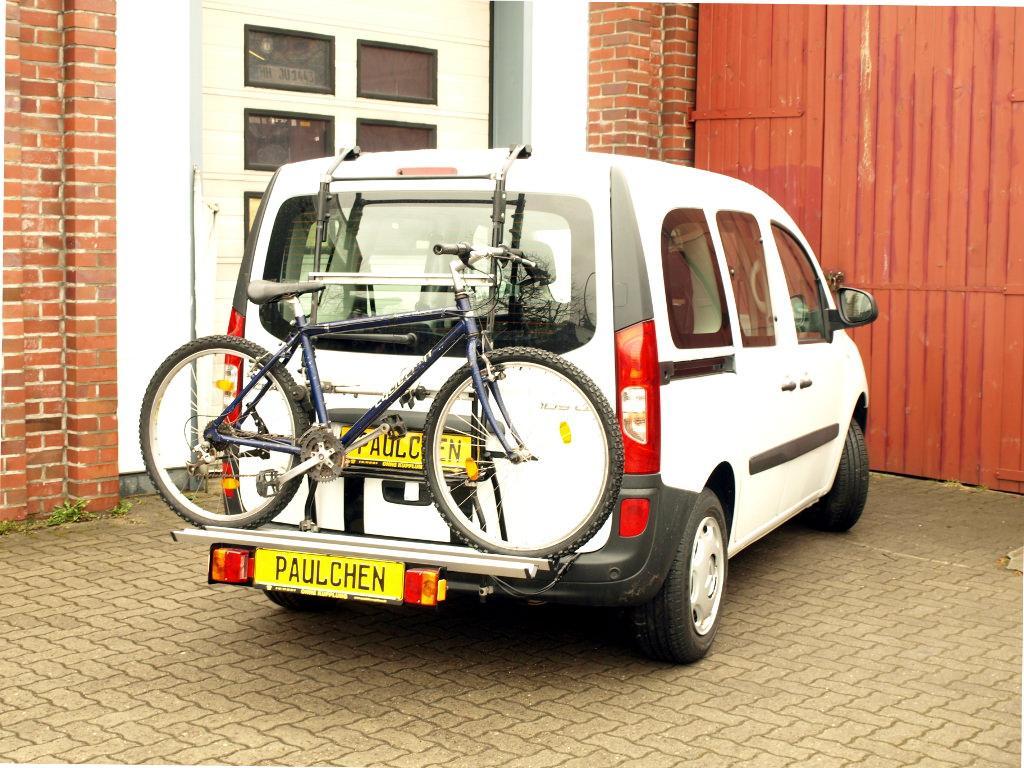 fahrradtr ger f r mercedes citan w415 paulchen. Black Bedroom Furniture Sets. Home Design Ideas