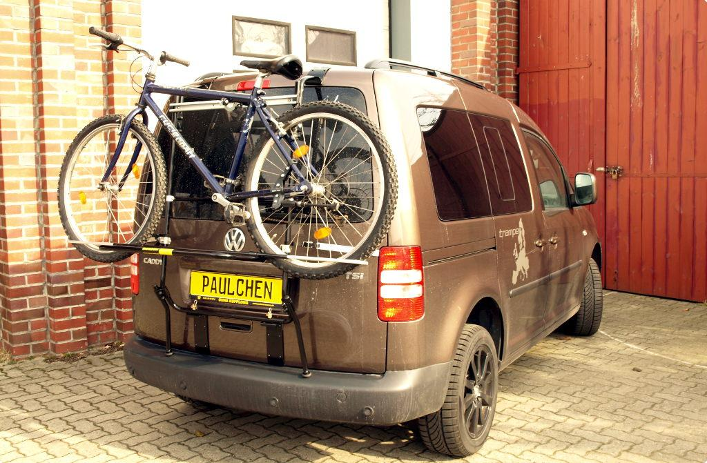 Volkswagen Caddy Iii Bike Rack