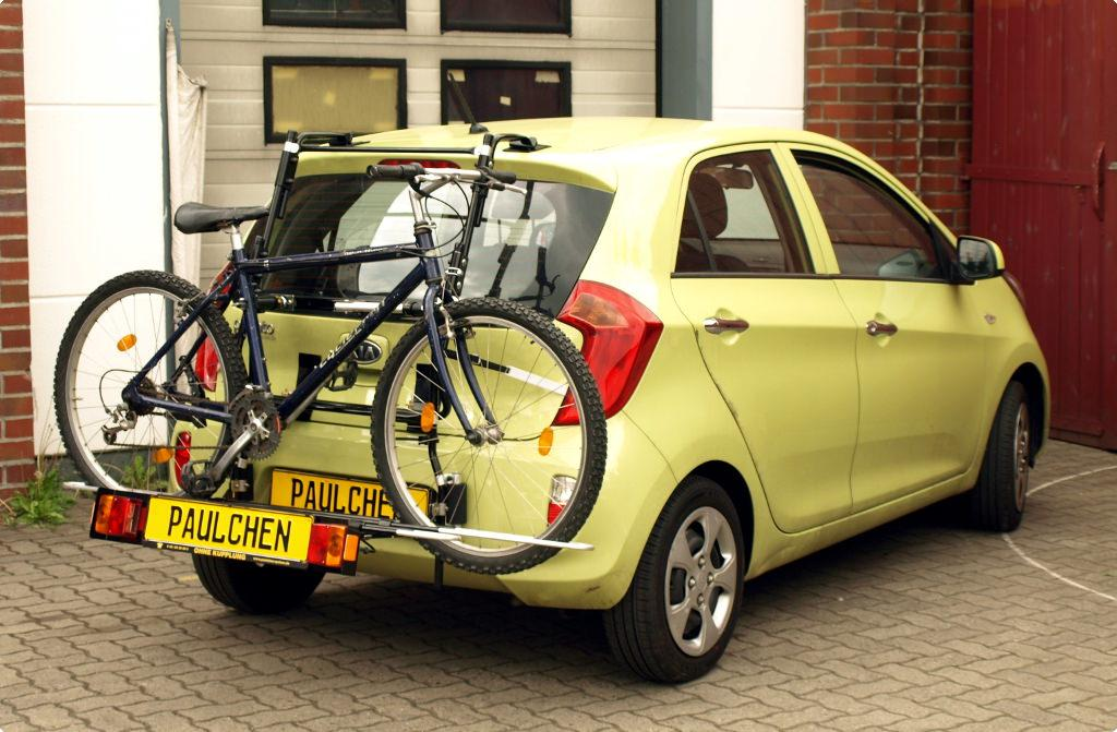 Bicycle Carrier For Kia Picanto Ta Paulchen Hecktr 228 Ger