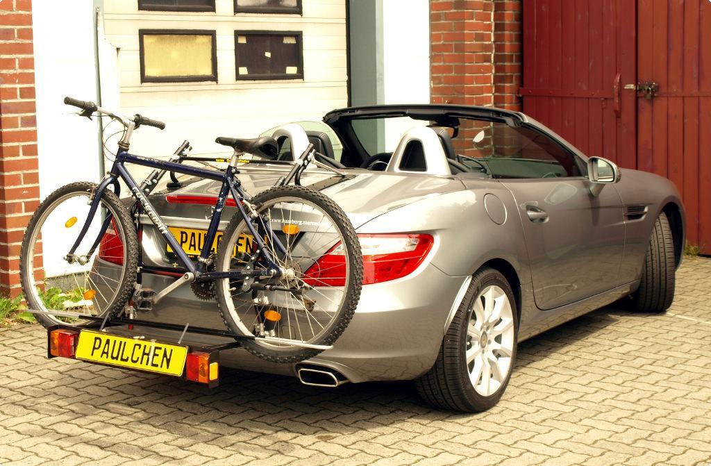 fahrradtr ger f r mercedes slk cabrio r172 paulchen. Black Bedroom Furniture Sets. Home Design Ideas