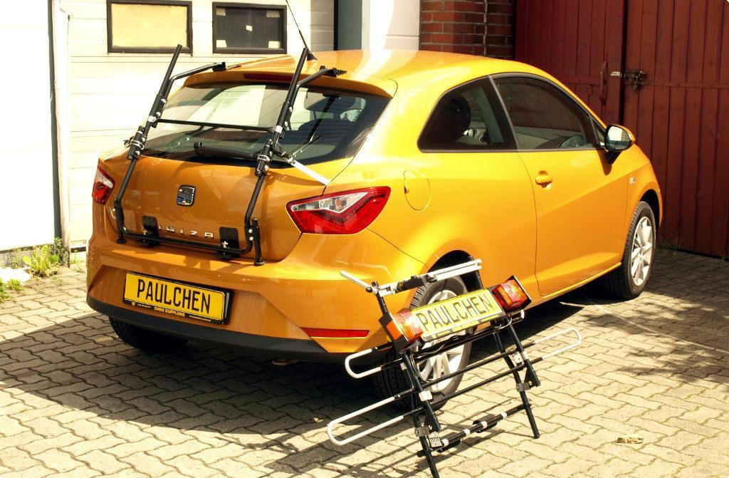 bicycle carrier for seat ibiza iv sc 6j paulchen hecktr ger system fahrradtr ger. Black Bedroom Furniture Sets. Home Design Ideas