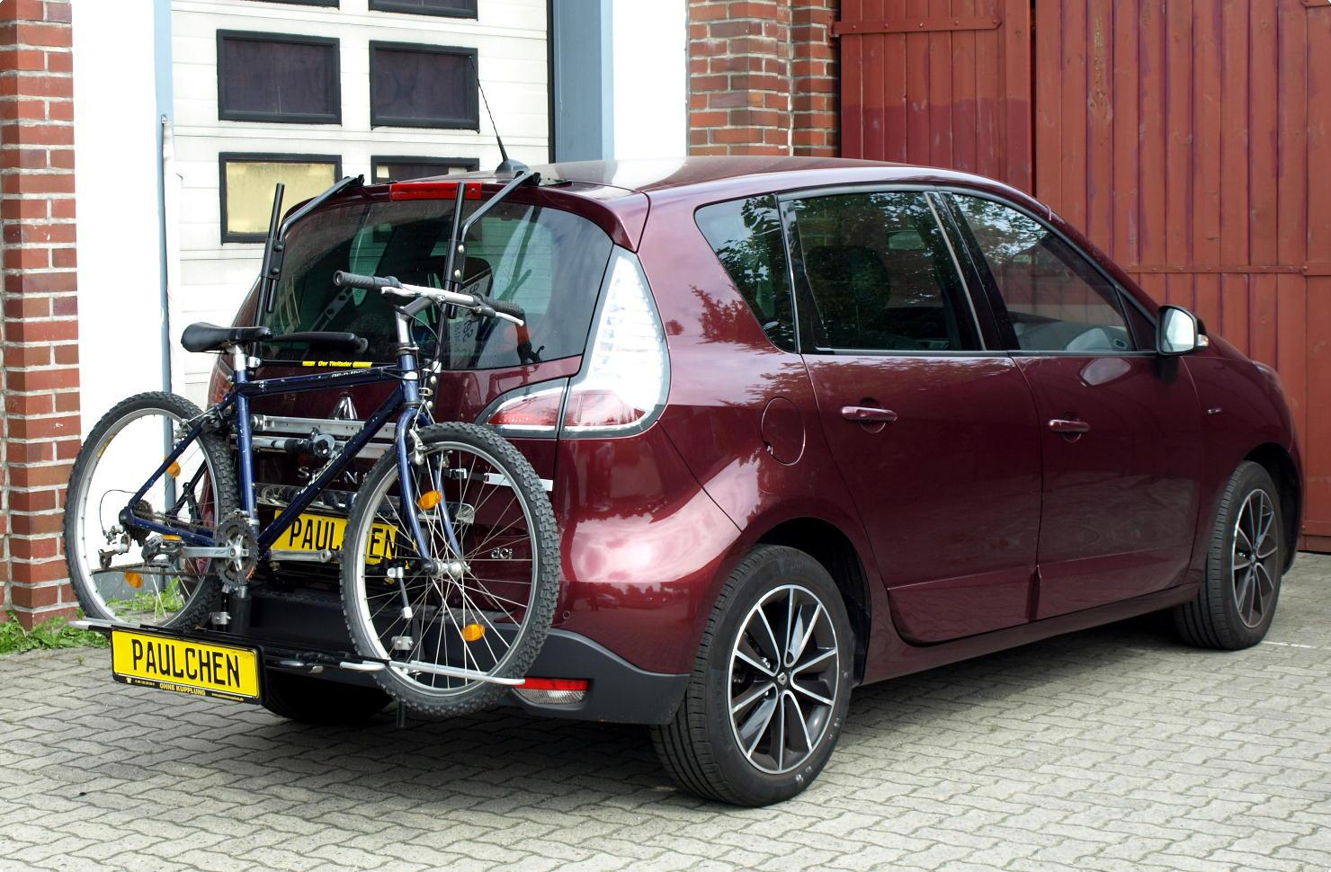 Bike Rack For Renault Scenic Iii Jz Paulchen