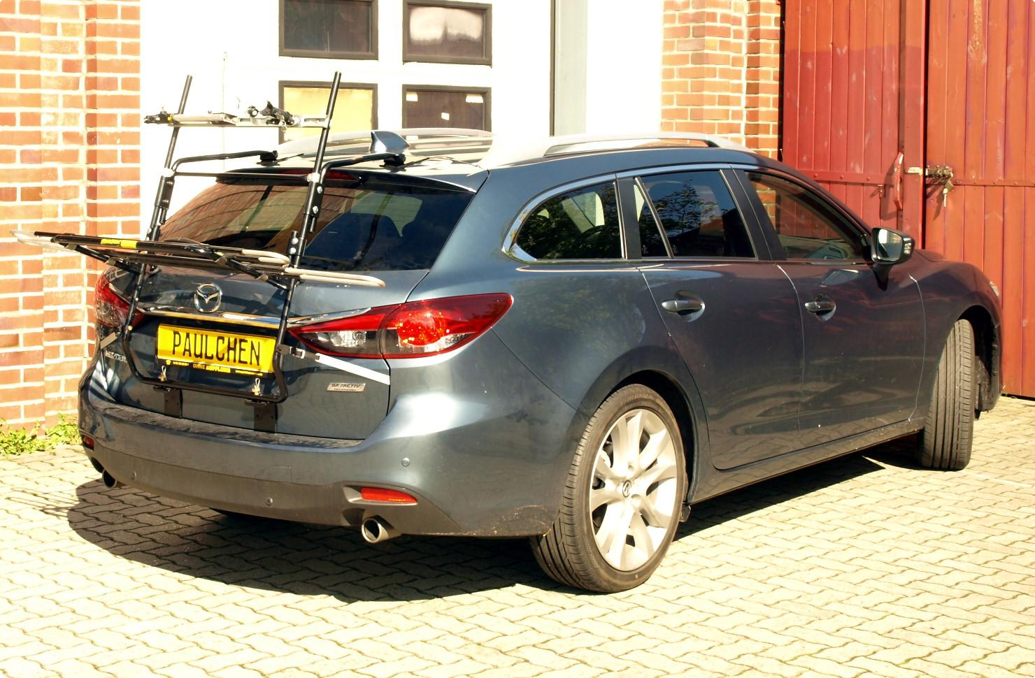 Mazda 6 Kombi Bike Rack
