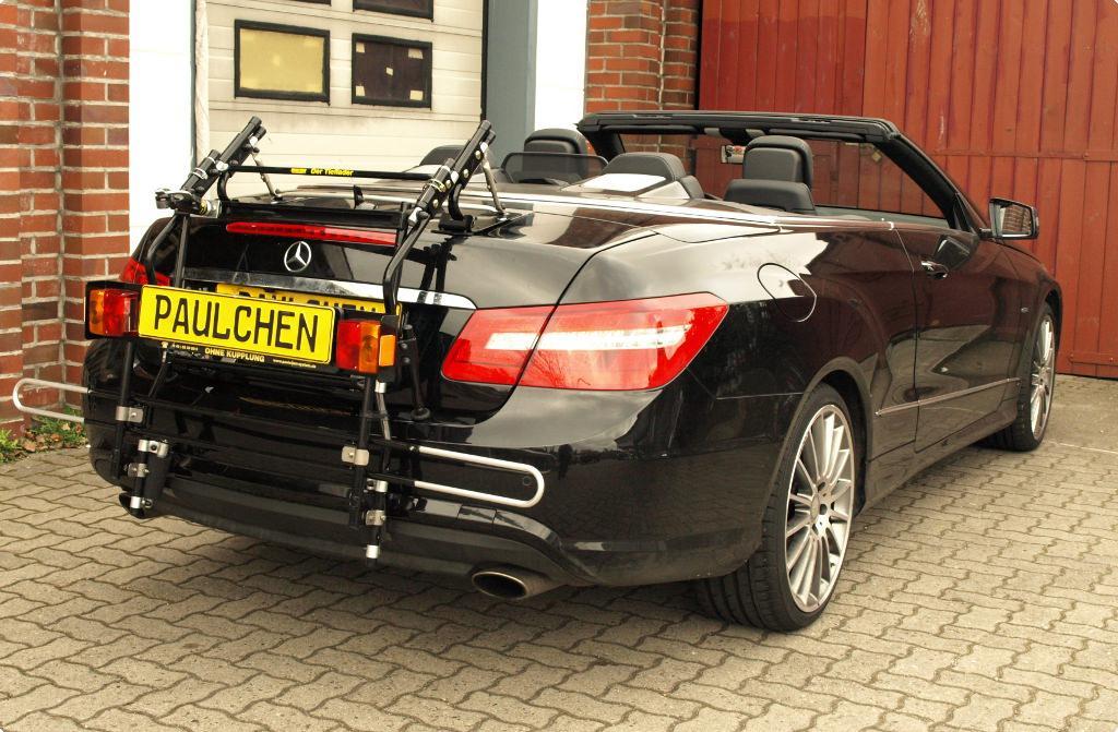 fahrradtr ger f r mercedes e klasse cabrio a207. Black Bedroom Furniture Sets. Home Design Ideas