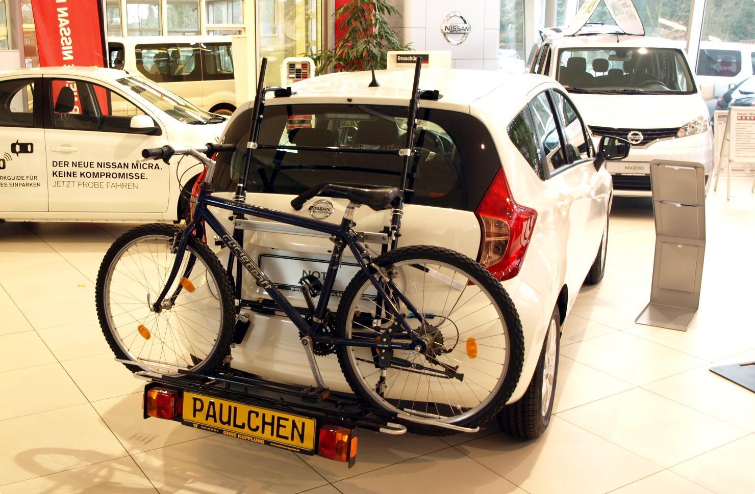 Bike Rack For Nissan Note E12 Paulchen Hecktrager System