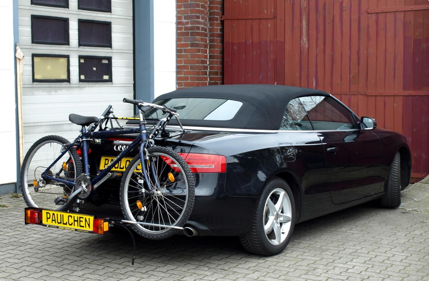 fahrradtr ger f r audi a5 cabrio 8f paulchen. Black Bedroom Furniture Sets. Home Design Ideas