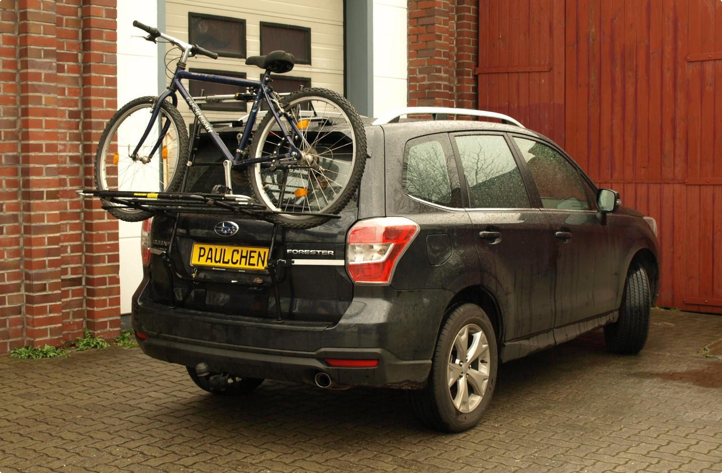 Subaru Forester Bike Rack Paulchen Hecktrager System Fahrradtrager