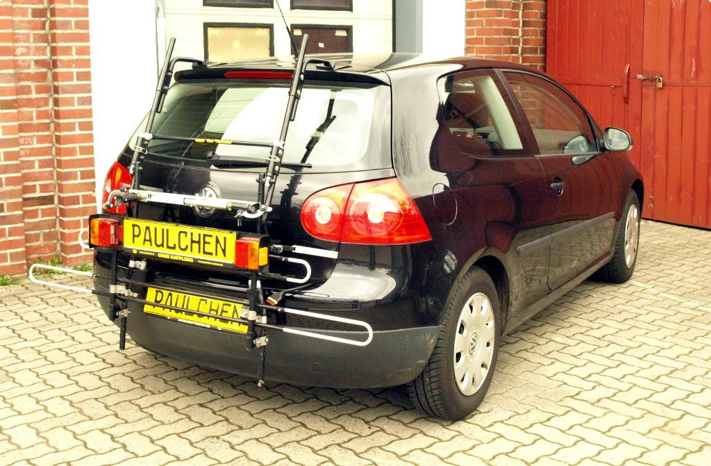 volkswagen golf v fahrradtr ger am heck paulchen. Black Bedroom Furniture Sets. Home Design Ideas