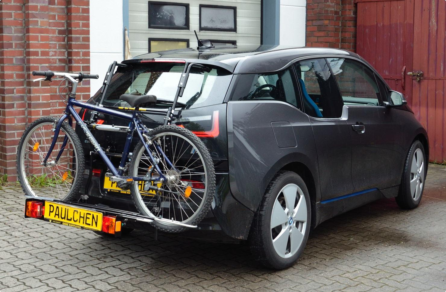 Bicycle Carrier For Bmw I3 I01 Paulchen Hecktrager