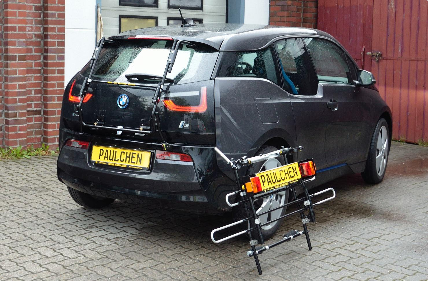 bmw i3 bike rack paulchen heck und fahrradtr ger system. Black Bedroom Furniture Sets. Home Design Ideas