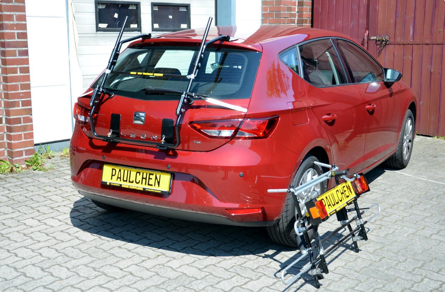 Seat Leon Bj ab 2012 Fahrradträger Heckklappe für 3 Fahrräder Heckträger