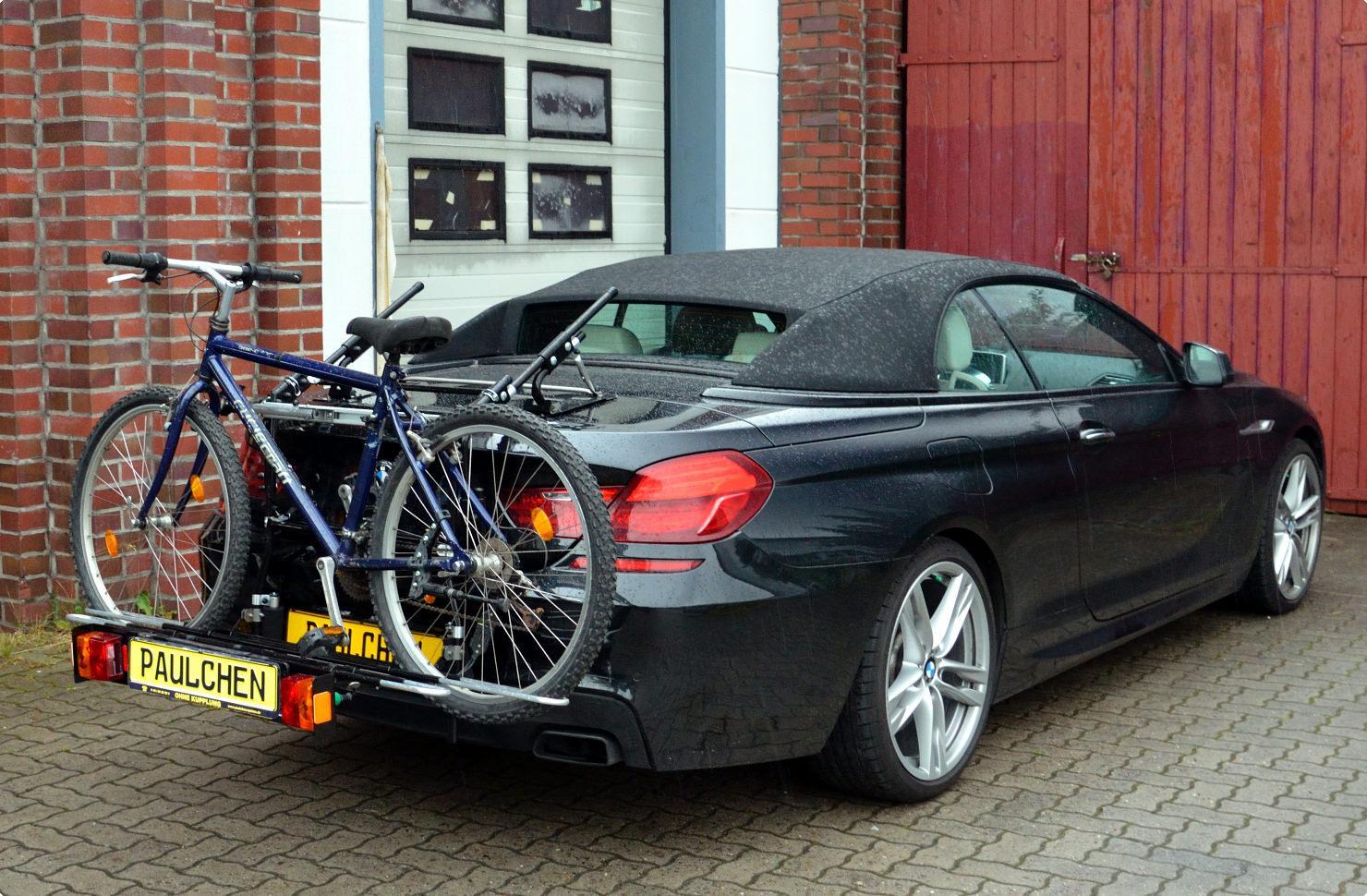 fahrradtr ger f r bmw 6er cabrio f12 paulchen. Black Bedroom Furniture Sets. Home Design Ideas