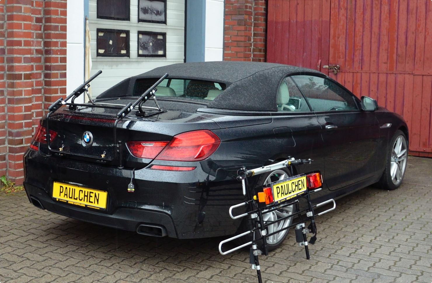 bicycle carrier for bmw 6er cabrio f12 paulchen. Black Bedroom Furniture Sets. Home Design Ideas