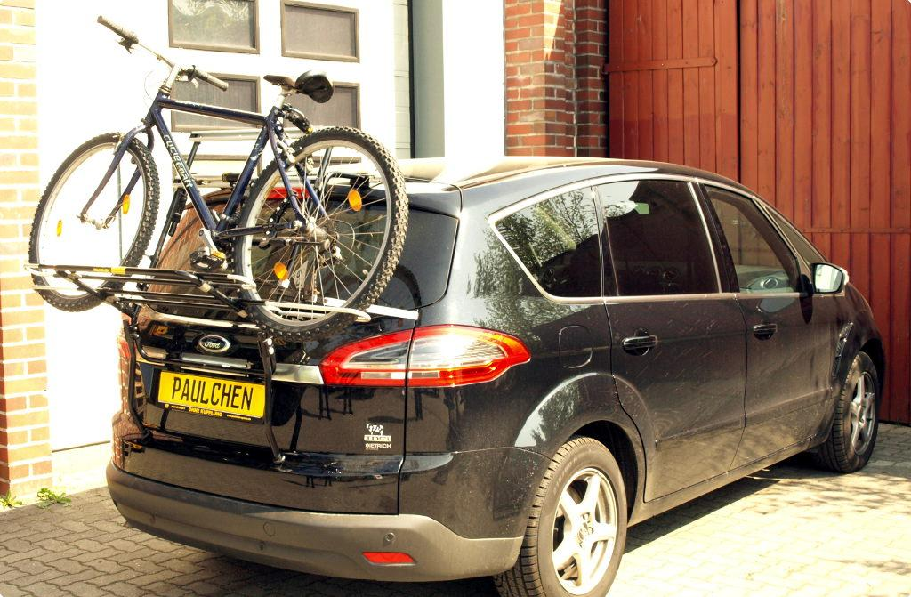 Bicycle Carrier For Ford S Max Wa6 Paulchen Hecktr 228 Ger