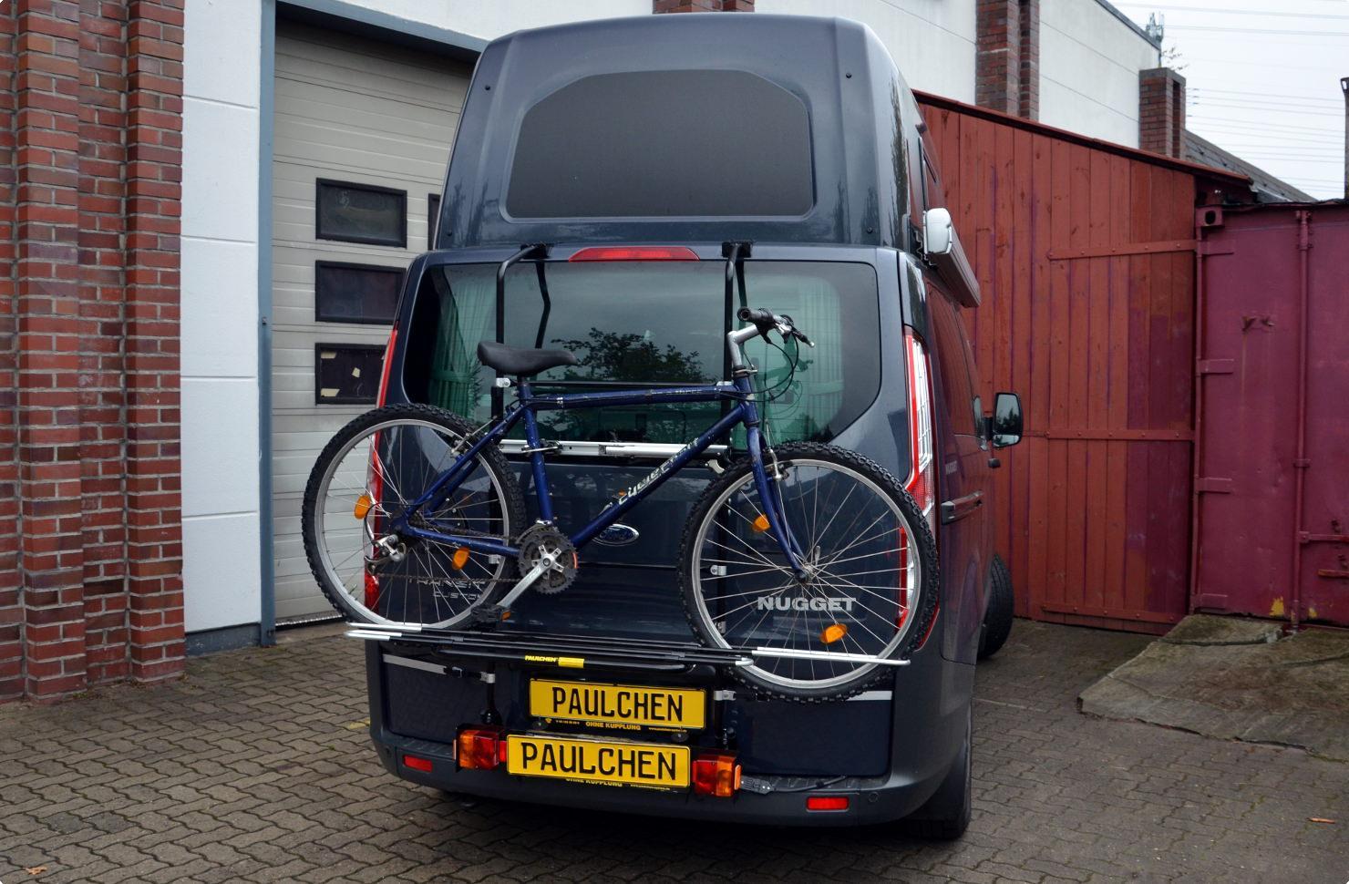 Fahrradträger für Ford Tourneo / Transit Custom - Paulchen ...