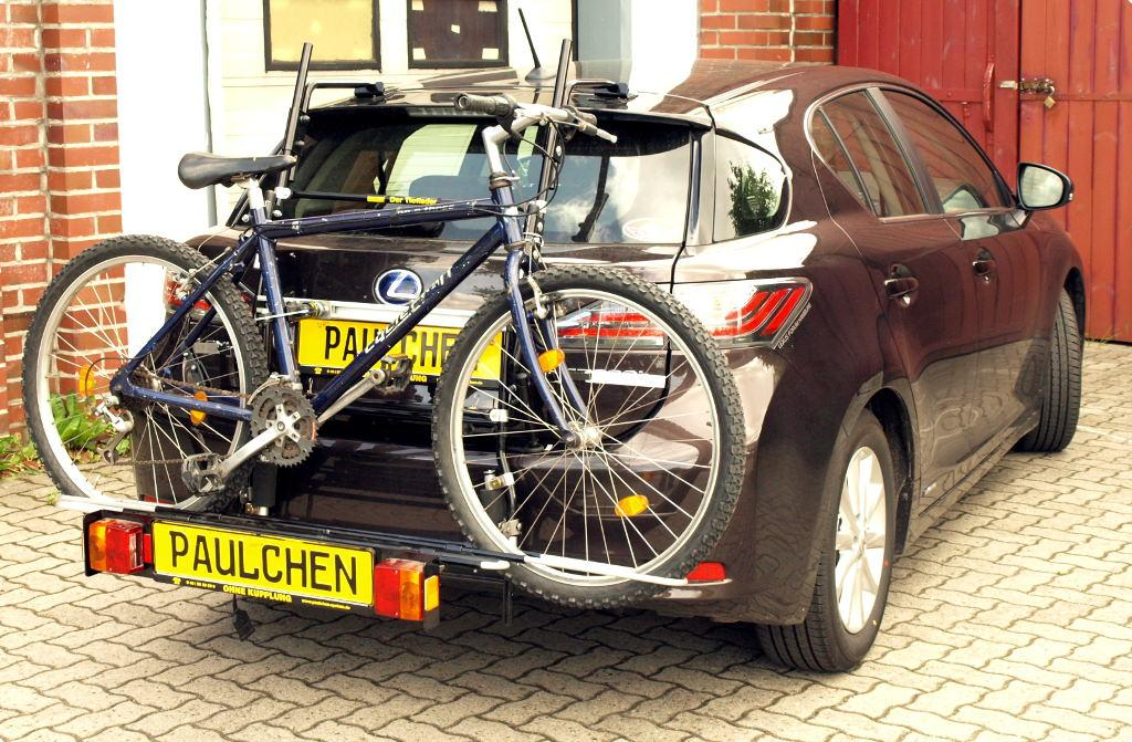 Bicycle Carrier For Lexus Ct Zwa1 Paulchen Hecktr 228 Ger