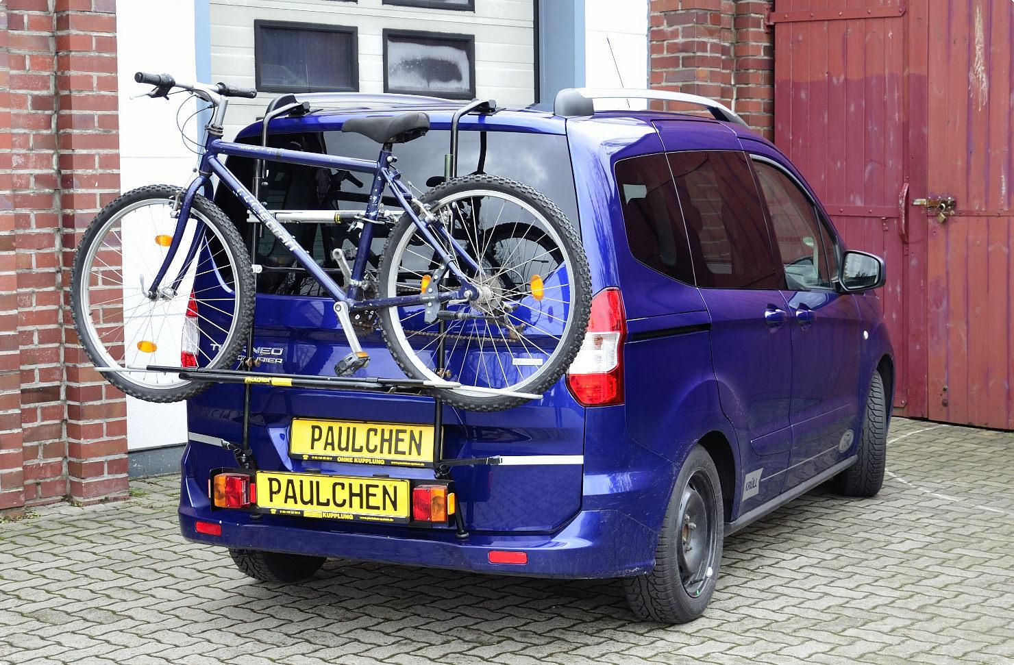 bicycle carrier for ford tourneo transit courier. Black Bedroom Furniture Sets. Home Design Ideas