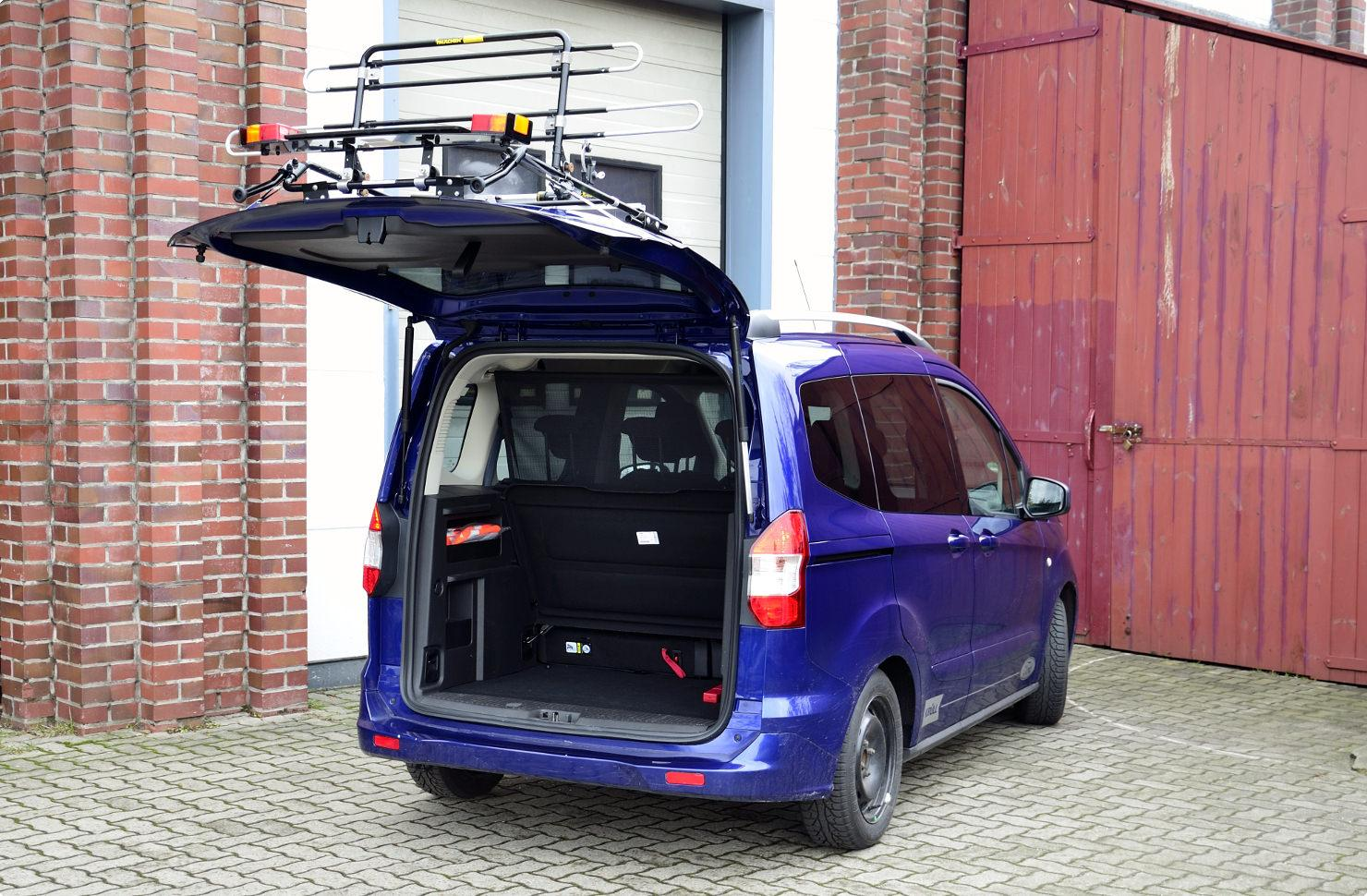fahrradtr ger f r ford tourneo transit courier paulchen. Black Bedroom Furniture Sets. Home Design Ideas