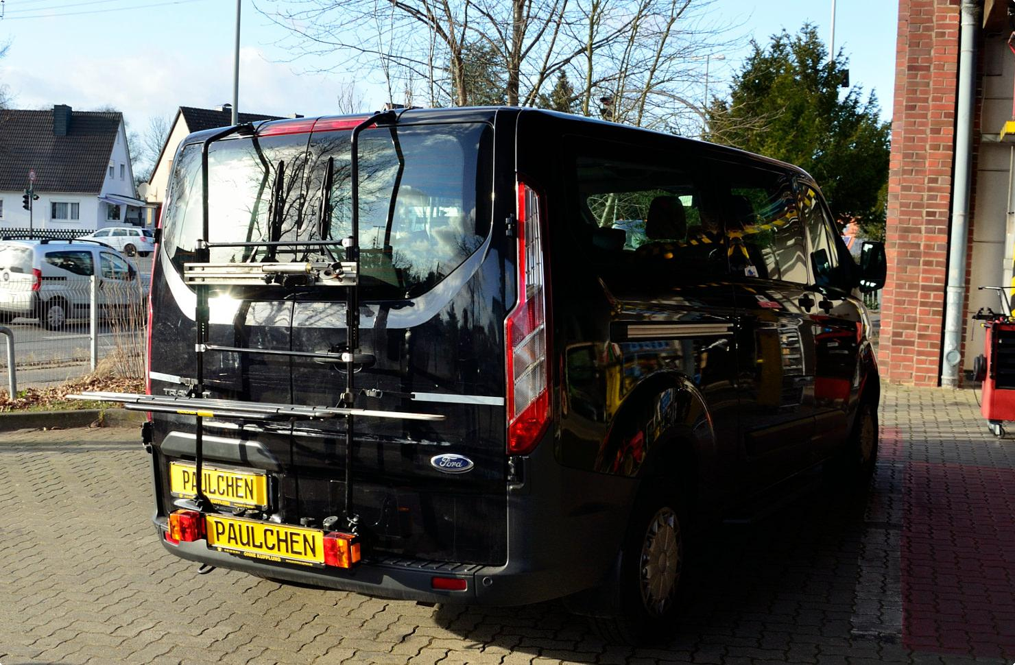 Bicycle Carrier For Ford Tourneo Transit Custom