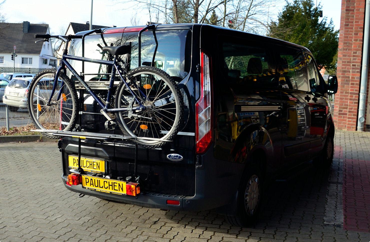 fahrradtr ger f r ford tourneo transit custom paulchen. Black Bedroom Furniture Sets. Home Design Ideas