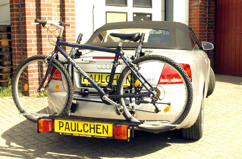 fahrradtr ger f r audi a4 cabrio b7 paulchen. Black Bedroom Furniture Sets. Home Design Ideas