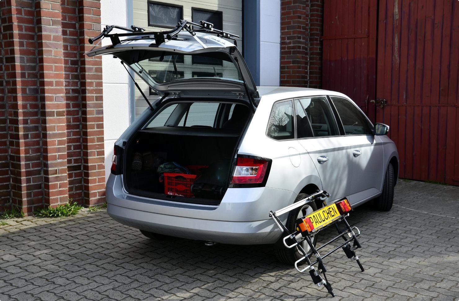 Bicycle Carrier For Skoda Fabia Iii Combi Nj5 Paulchen
