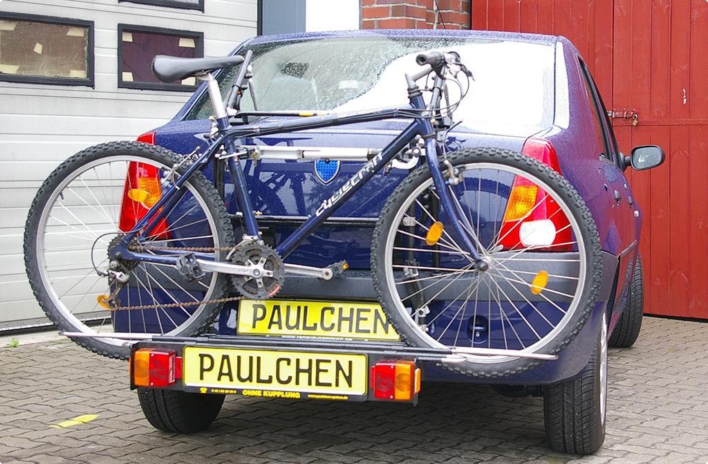 fahrradtr ger f r dacia logan paulchen hecktr ger system. Black Bedroom Furniture Sets. Home Design Ideas