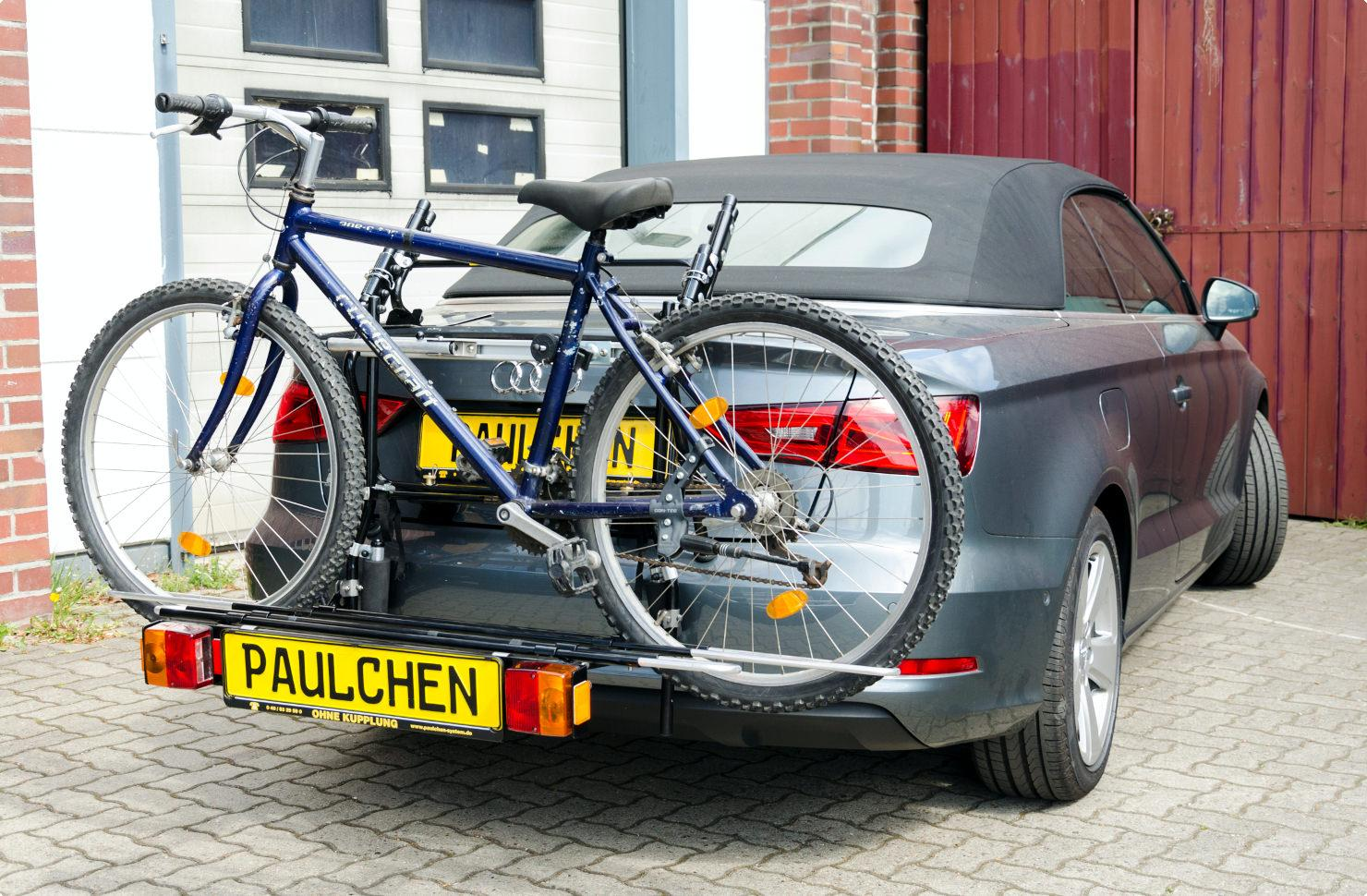 Bicycle Carrier For Audi A3 Cabrio S3 Cabrio 8v Paulchen