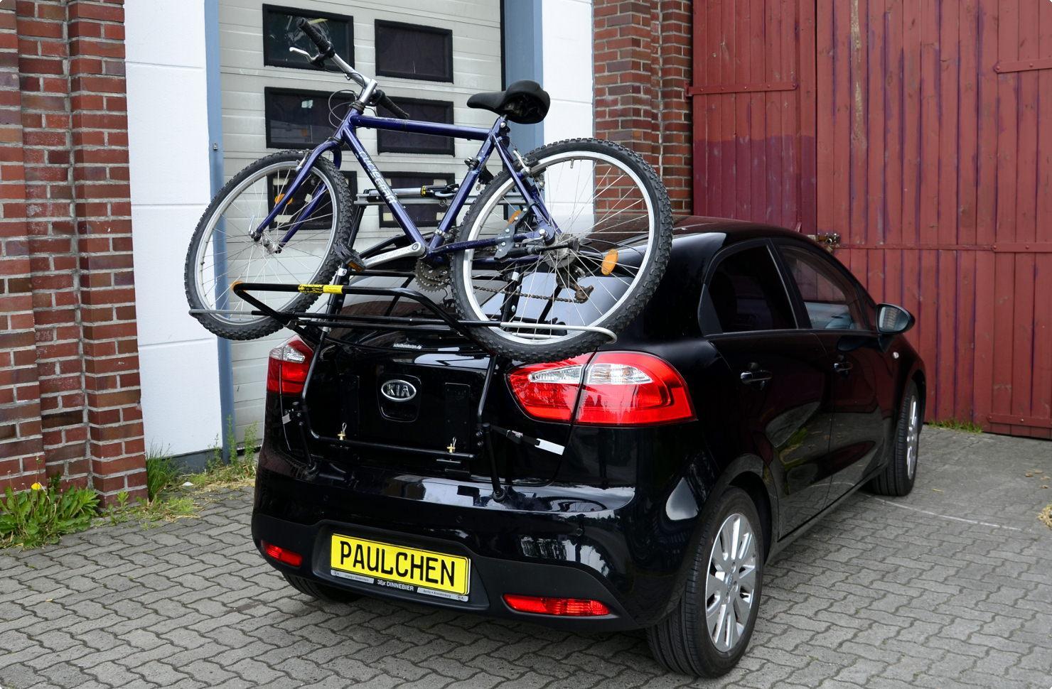 Bicycle Carrier For Kia Rio Iii Ub Paulchen Hecktr 228 Ger