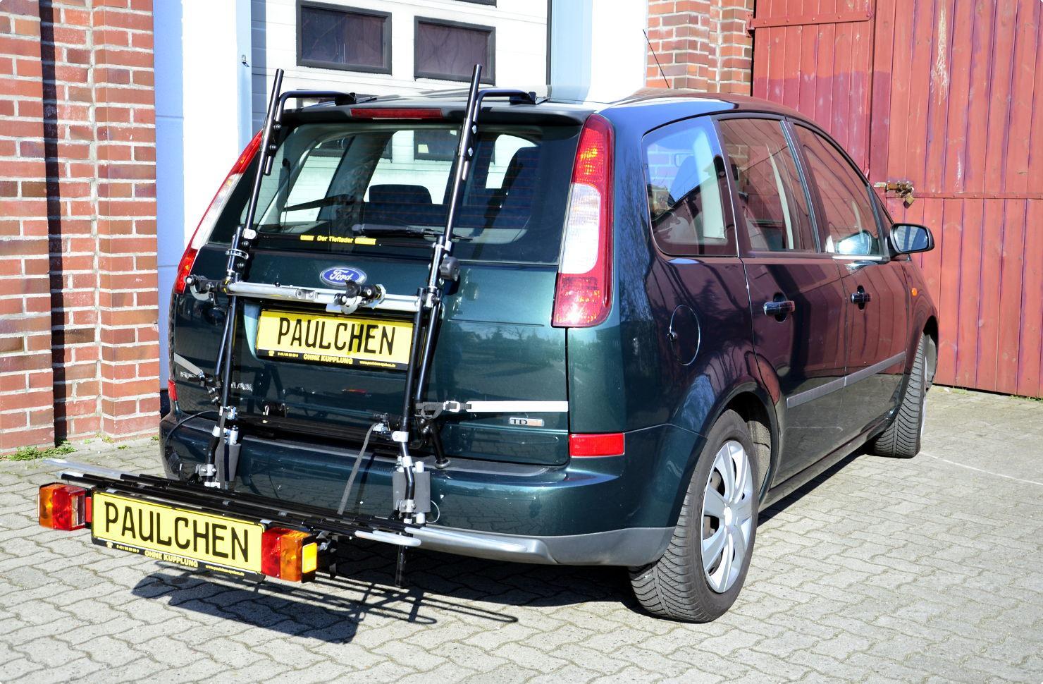ford focus c-max/c-max bike rack - paulchen heck- und