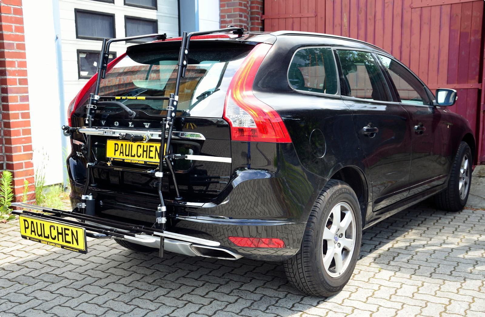 Bike rack for Volvo XC60 Facelift, Paulchen Heckträger System - Paulchen Heckträger System ...