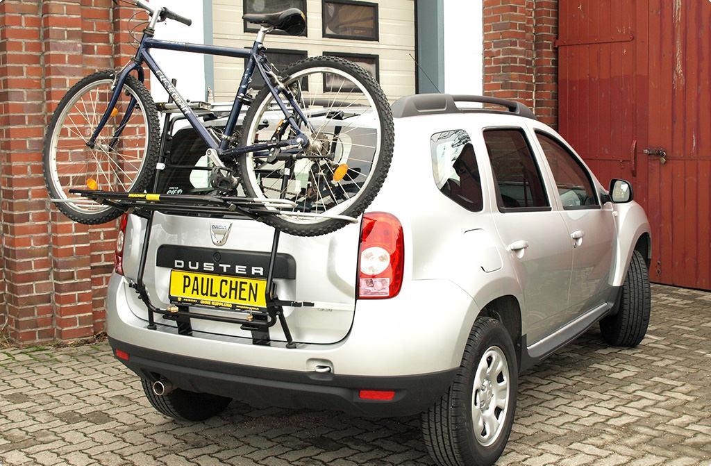 Bike Rack For Dacia Duster Paulchen Hecktr 228 Ger System