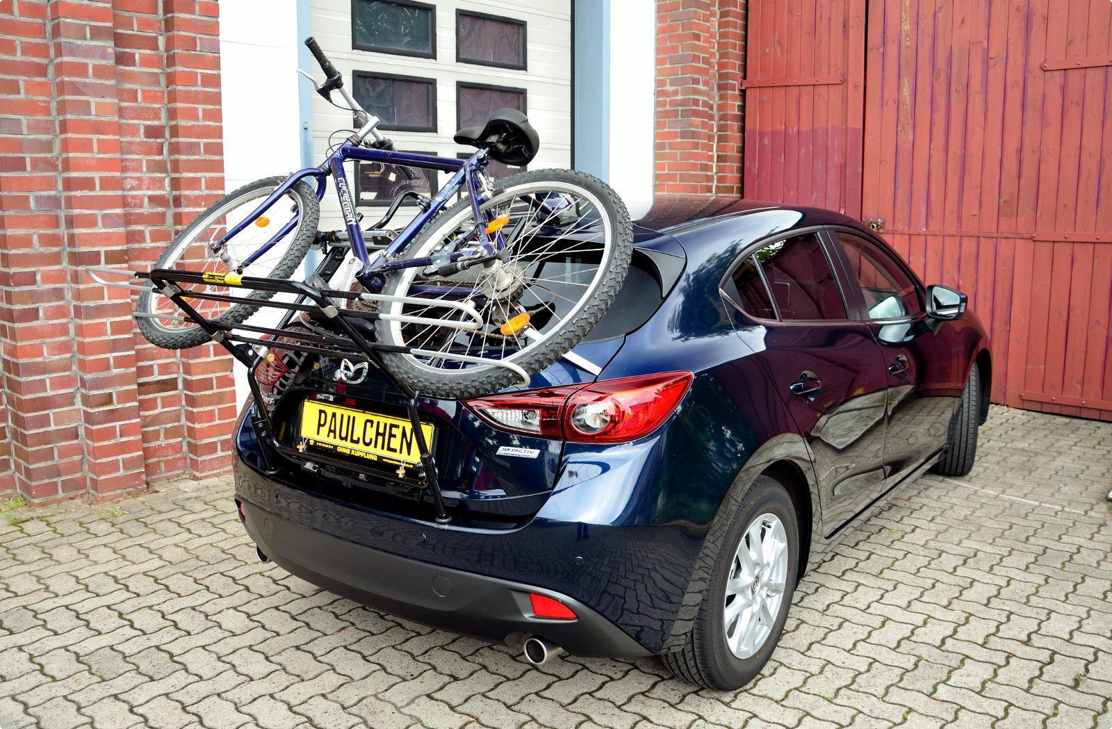 Bike Rack For Mazda 3 Bm Paulchen Hecktrager System